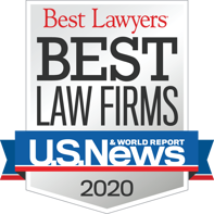 "Best Lawyers ""Best Law Firm"" 2020"